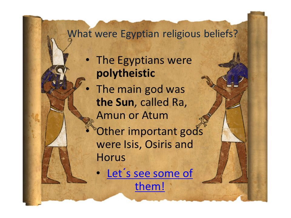 List of Important Facts About Ancient Egyptian Religions