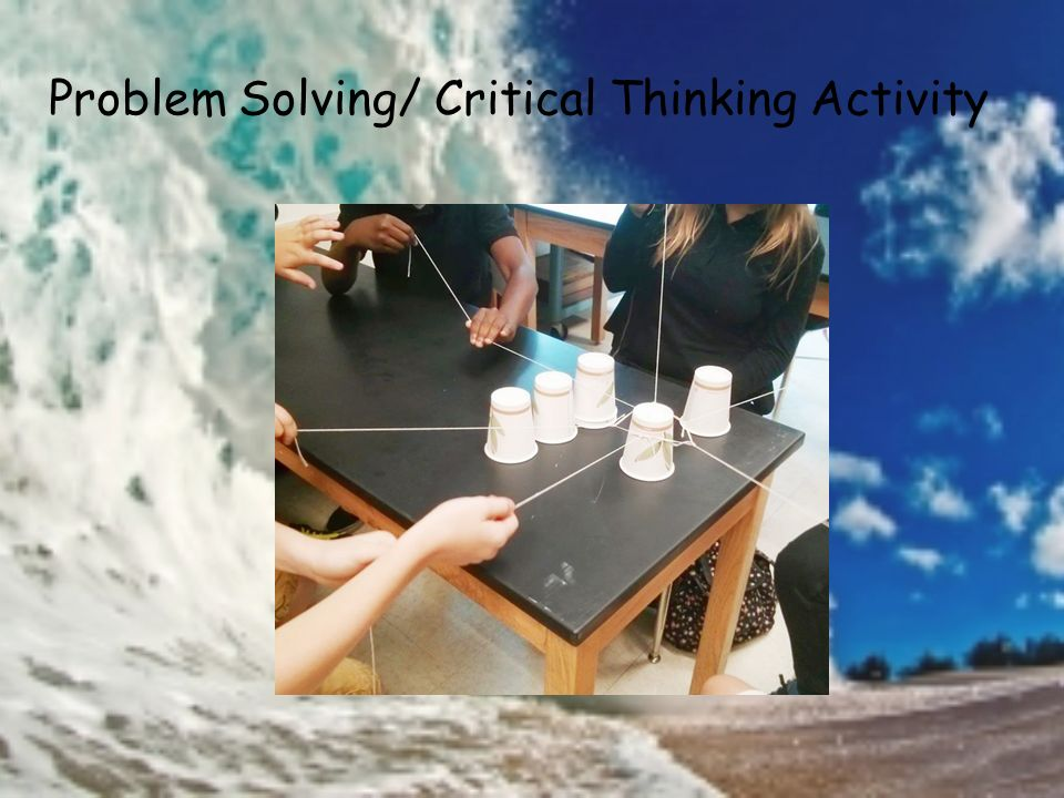 what is a critical thinking activity Games and activities for developing critical thinking skills thinking the workbook critical.