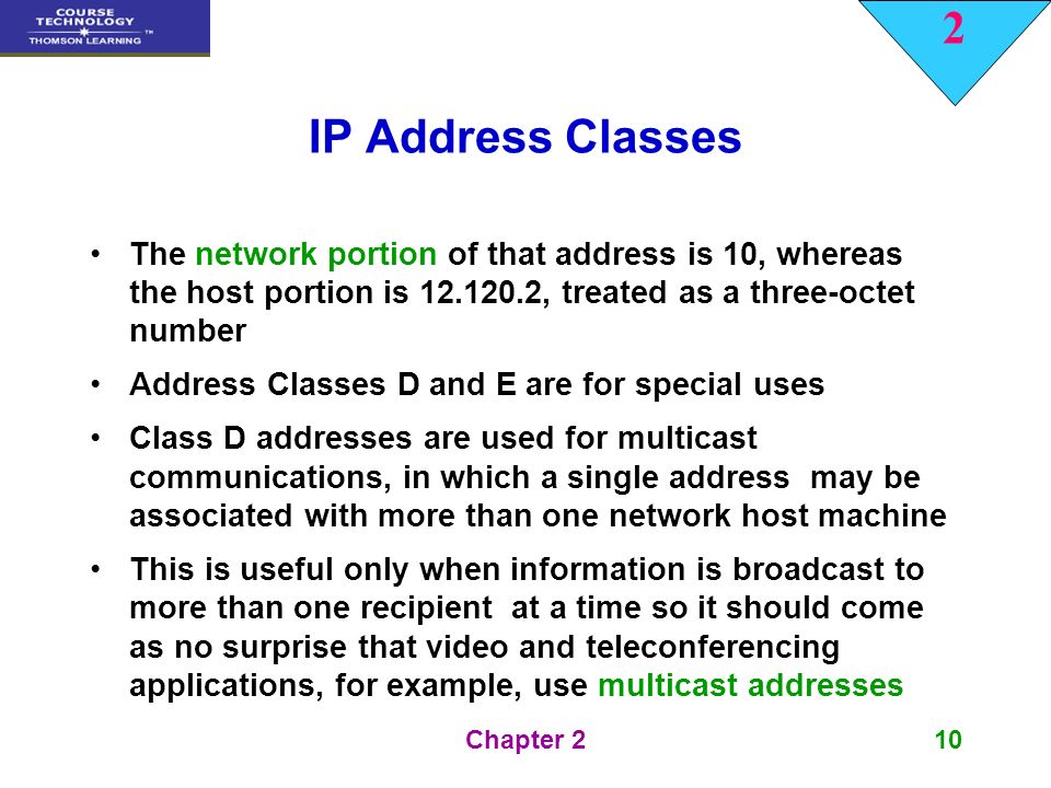 ip addresses classes and special use ip There are two versions of ip in use today,  ip address classes and bit-wise representations  special addresses.