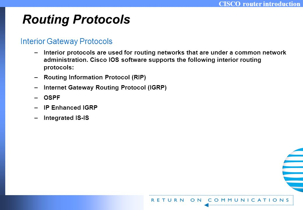 Cisco Router Introduction For Labs Wan Ospf Rip Ppt Video Online Download