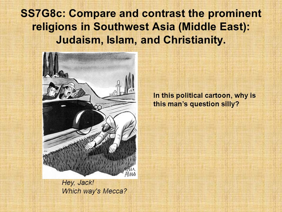 compare and contrast 2 religions Free essay: compare and contrast judaism and christianity judaism and christianity are key religions in the history of our world, and are still around today.