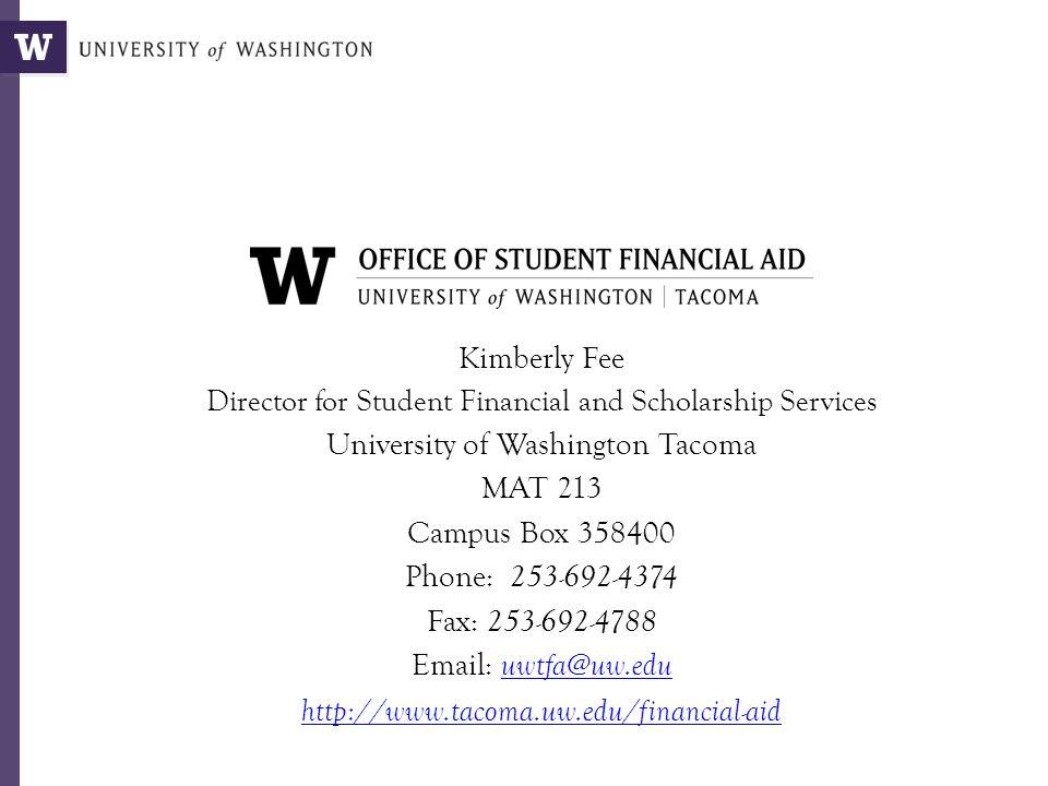 University Of Washington Scholarships >> University Of Washington Tacoma Mat 213 Campus Box Ppt