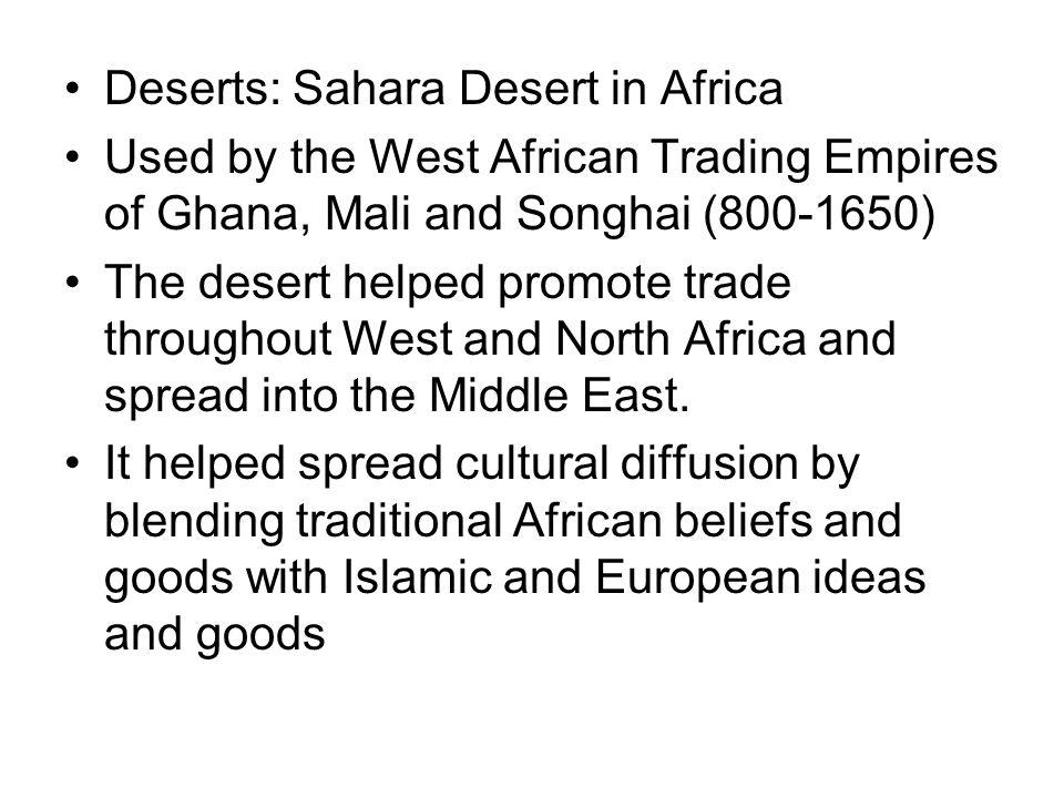 Deserts: Sahara Desert in Africa