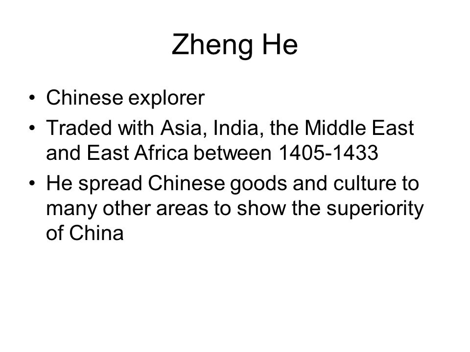 Zheng He Chinese explorer