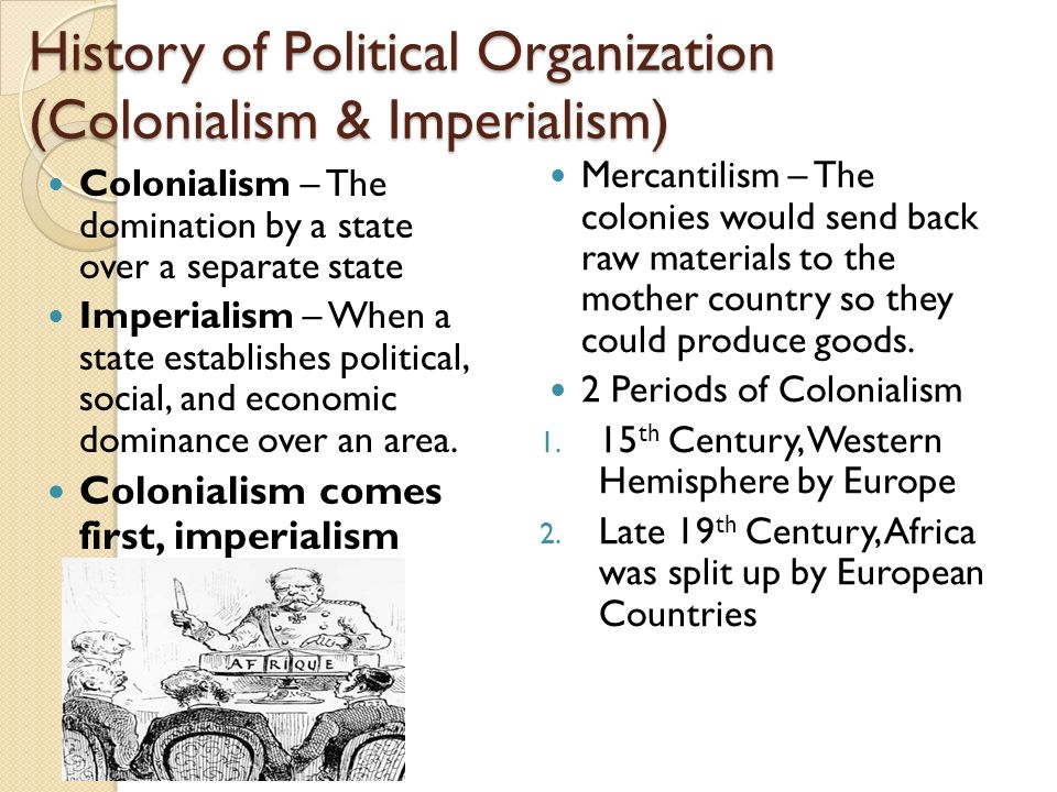 political organization ppt