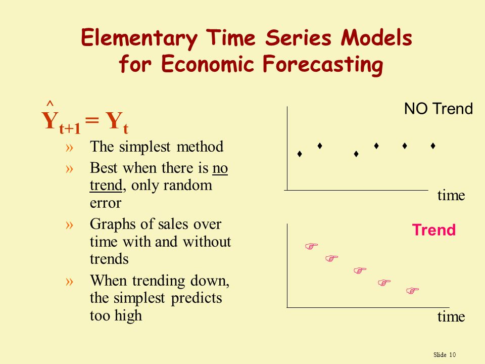 Business And Economic Forecasting Quantitative Forecasting