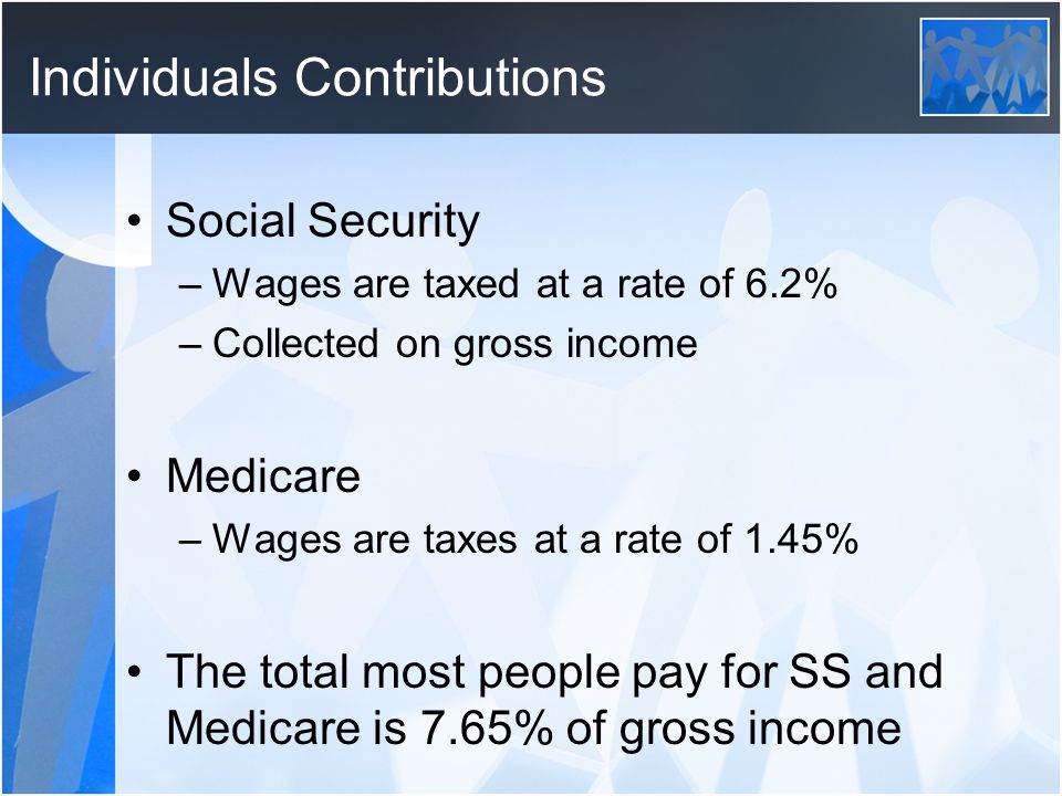 Individuals Contributions