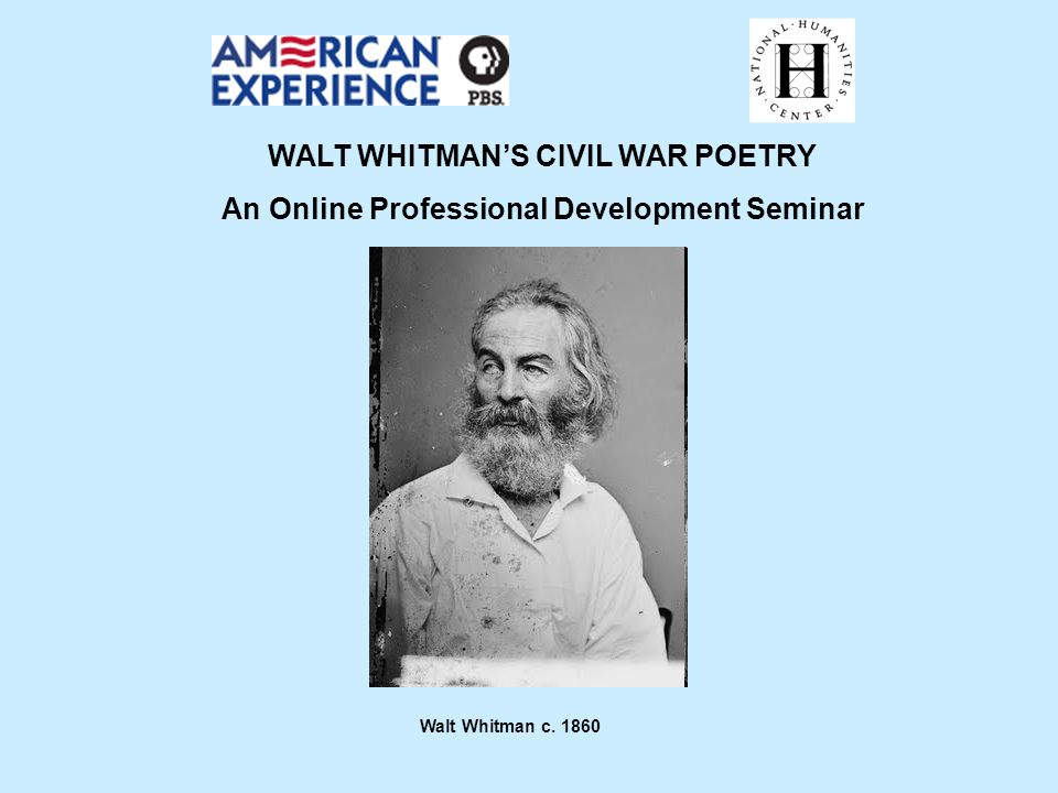 reconciliation walt whitman analysis