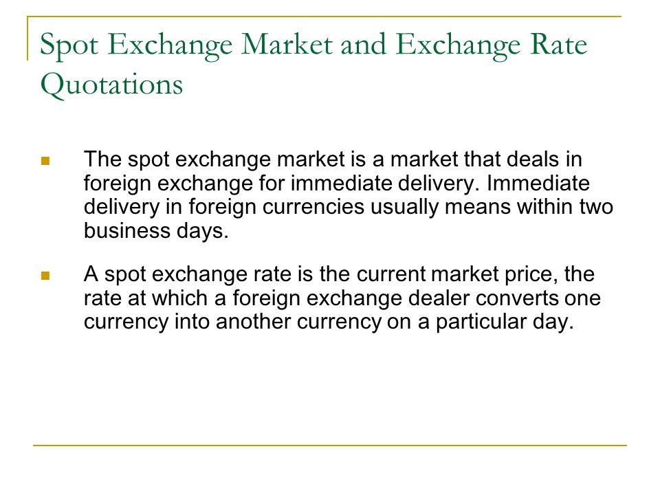 Foreign exchange market investopedia