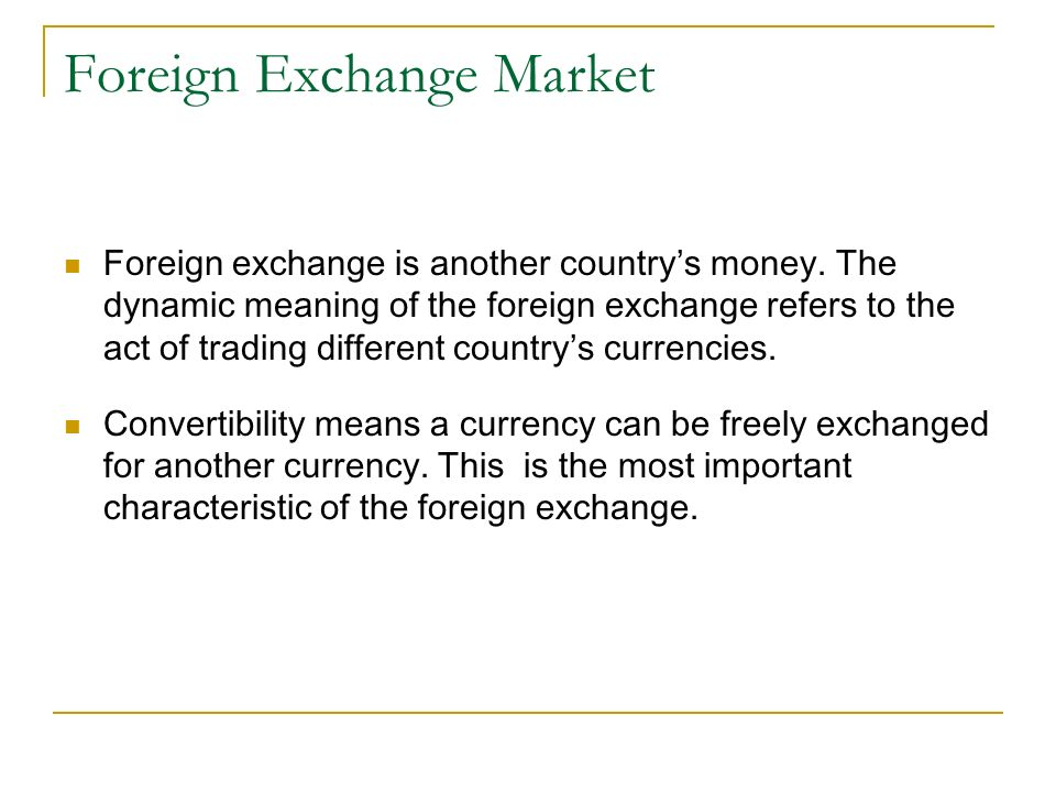 Where can i trade foreign currency