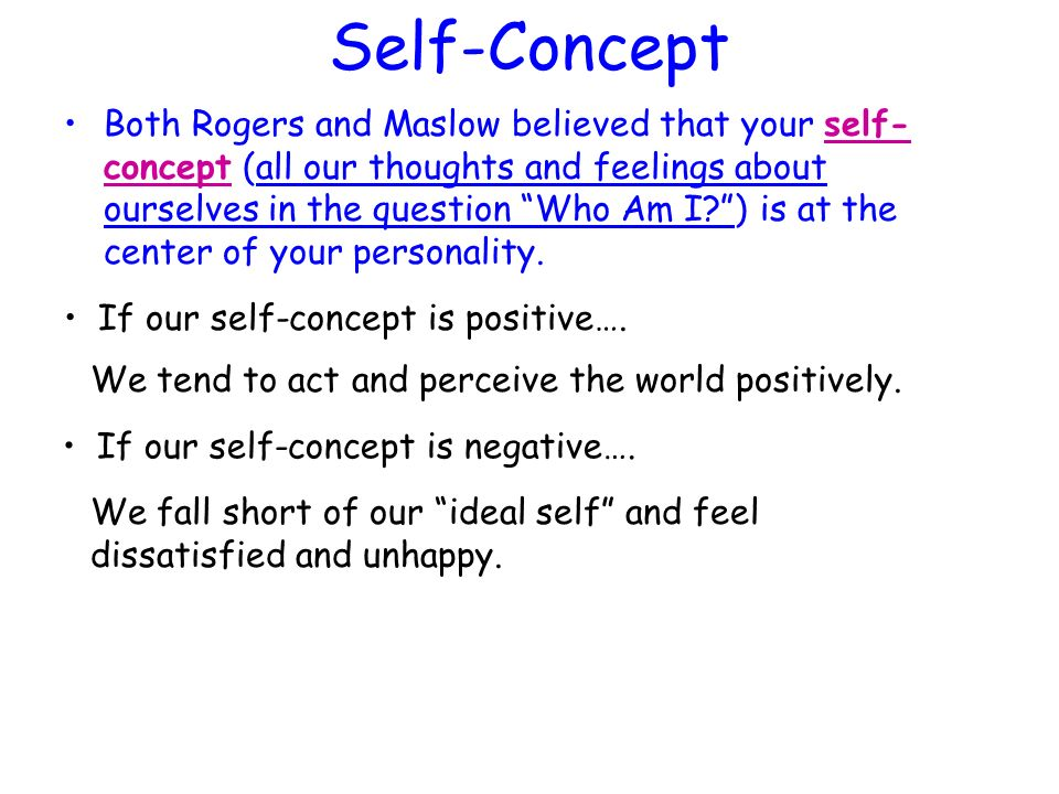 how to build positive self concept