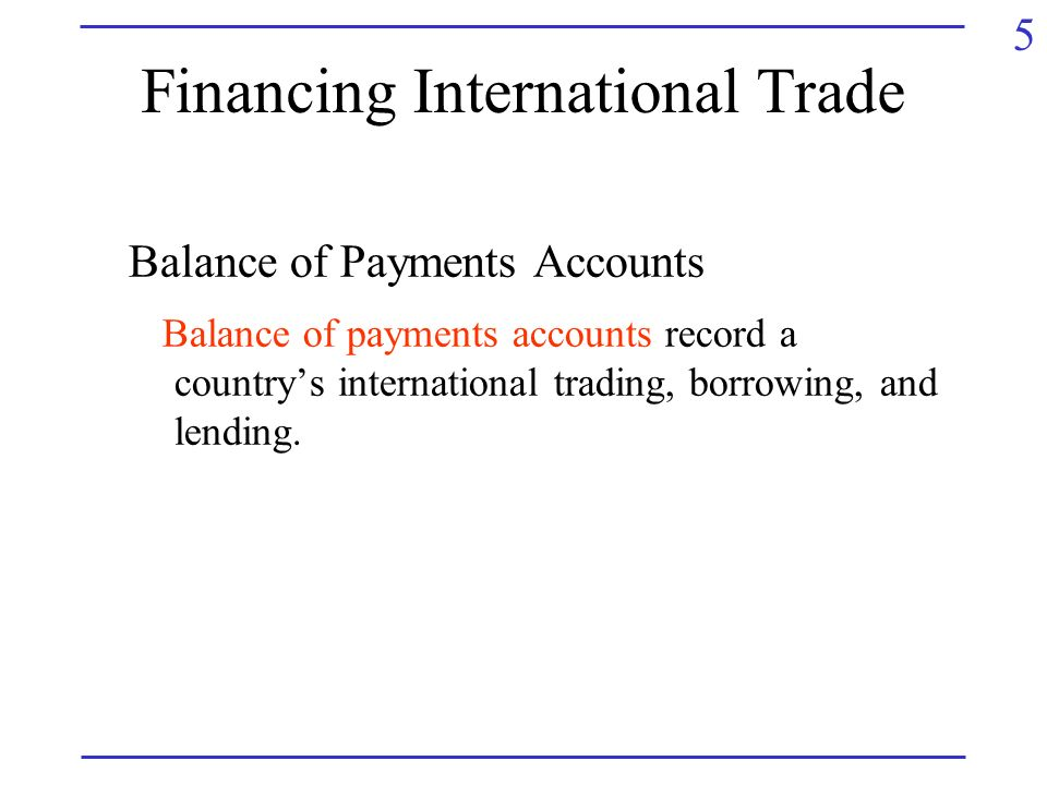 international trade payment and finance with Trade finance instruments trade finance (tf) is an important part of the transaction services offered by most international banks it is a payment instrument and at the same time effectively manages the risks associated with doing business internationally.
