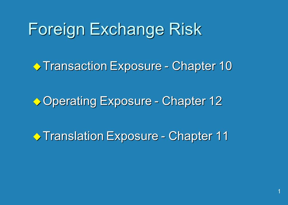 exchange rate risk and impact on foreign trade Impact of change in exchange rate on foreign direct investment: evidence from china weifeng jin emphasizes the impact of exchange rate changes on the level of the cost of production of the comparing the relative trade balances, in terms of one country's currency.