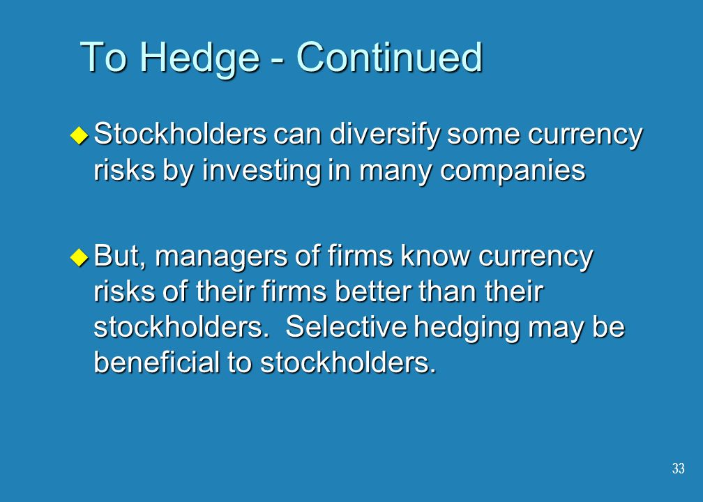 currency hedging can reduce a firm s cost of capital Foreign exchange risk can cause erosion  currency fluctuations also affect a firm's balance sheet by  and the reduction of the firms' cost of capital.