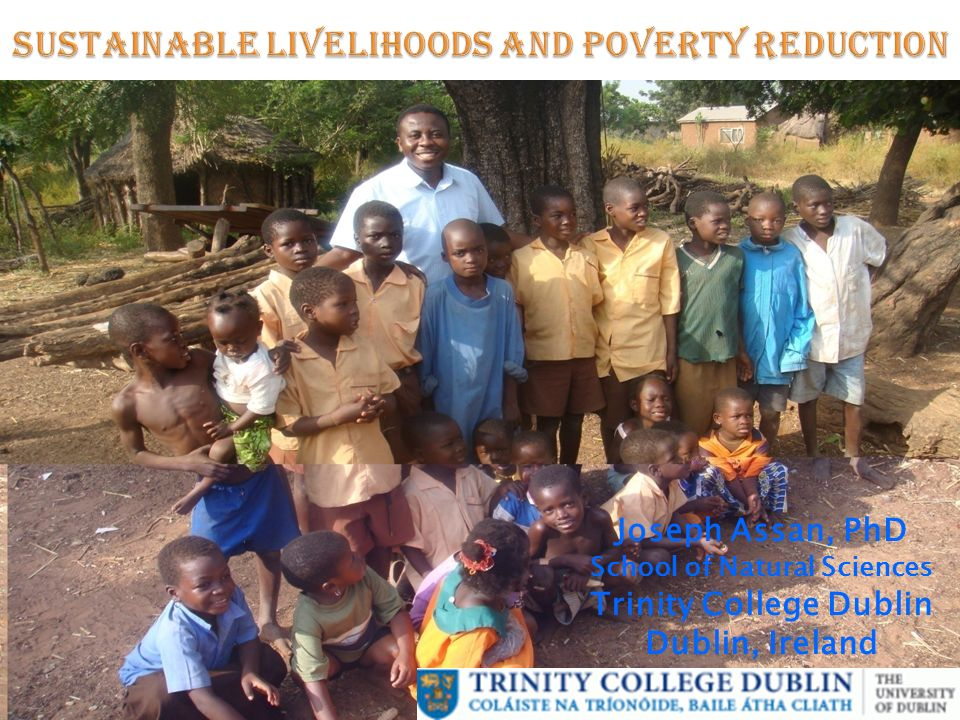 Sustainable Livelihoods and Poverty Reduction