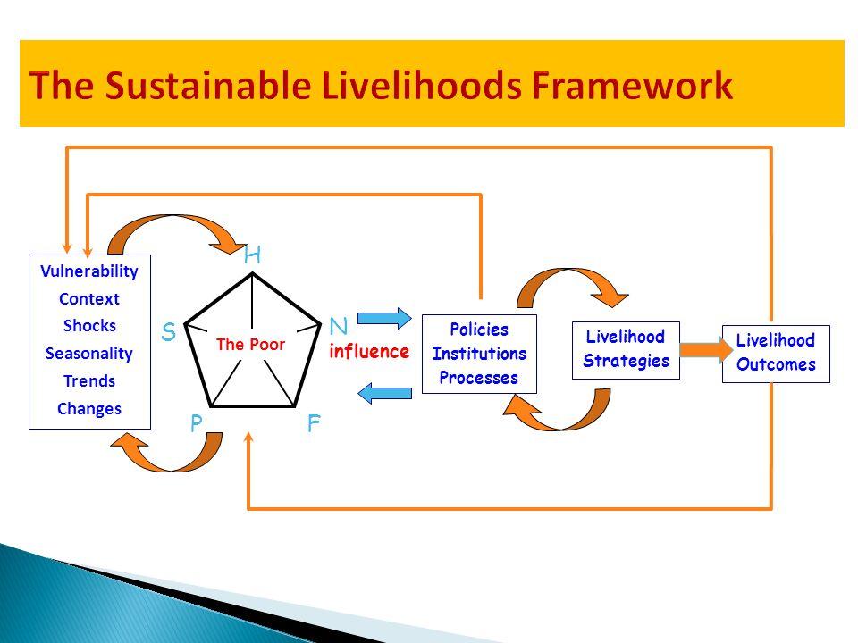 The Sustainable Livelihoods Framework
