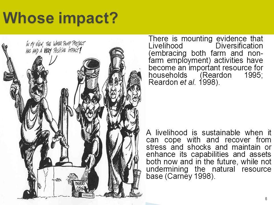 Whose impact