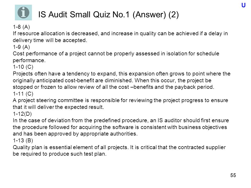 audit quiz 1 Chapter 06-quiz-audit planning, understanding the client, assessing risks, and responding audit committees should be made up of the most qualified directors regardless of whether they are part of management of the company.