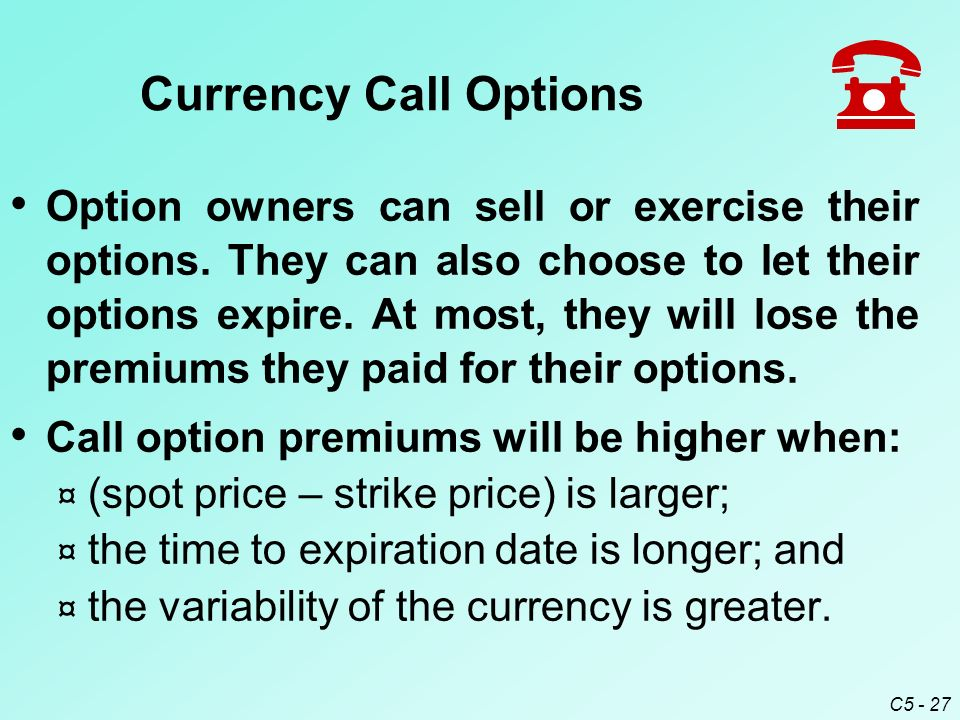 how to choose strike price for call options