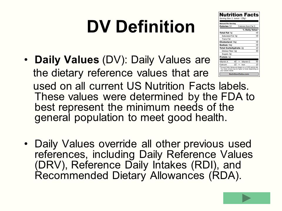 dietary reference values drvs essay Wiley online library is migrating to a new platform powered by atypon, the leading provider of scholarly publishing platforms dietary reference values (drvs.