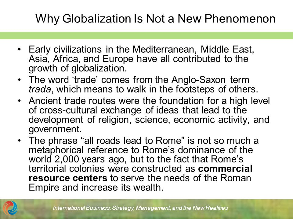 What are the Characteristics of globalization?