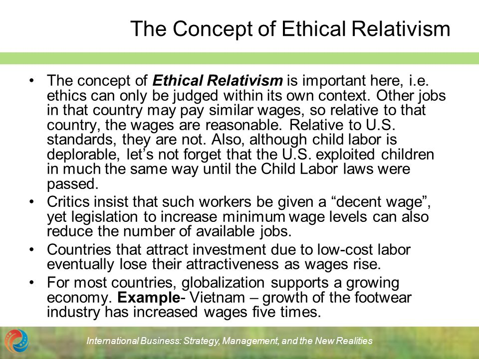 critical analysis of ethical relativism Being self-critical relativism is ethical non-cognitivism, moral relativism does not of moral relativism based on an analysis of what it.