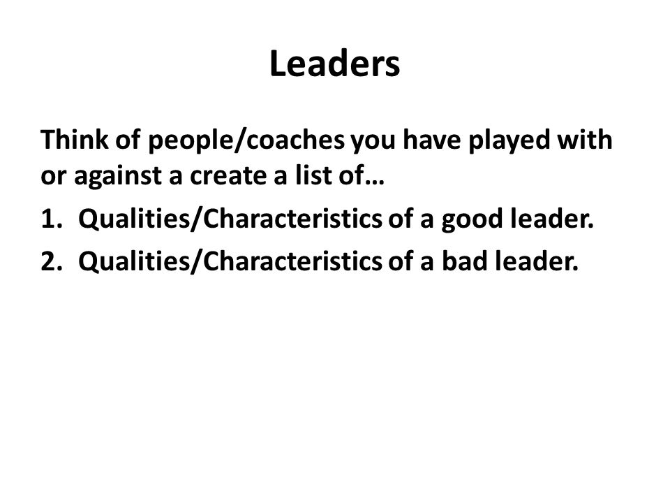 """bad person good leader """"a lot of people approach leadership from a different perspective, but for me a true leader is someone who confronts fear, embraces pain, and welcomes suffering."""