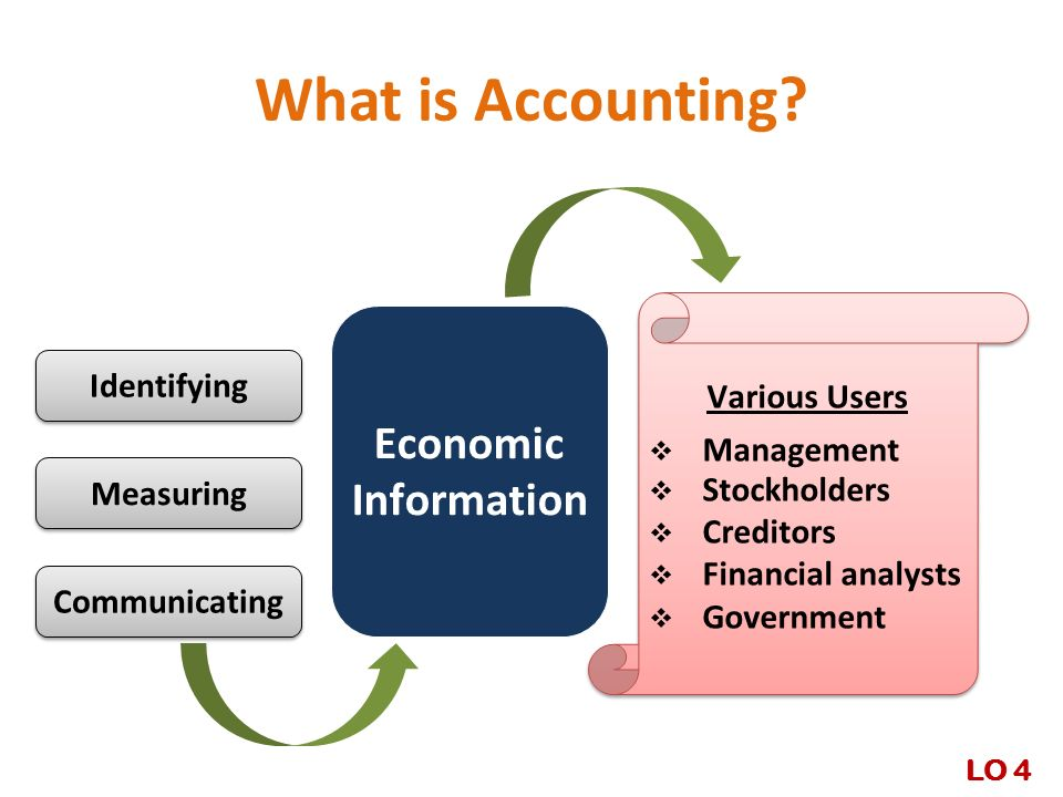 What is Accounting Economic Information Various Users Identifying