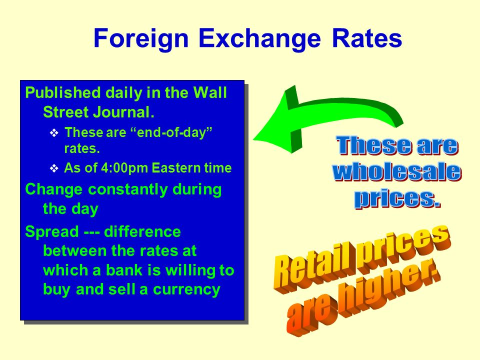 Buy foreign exchange