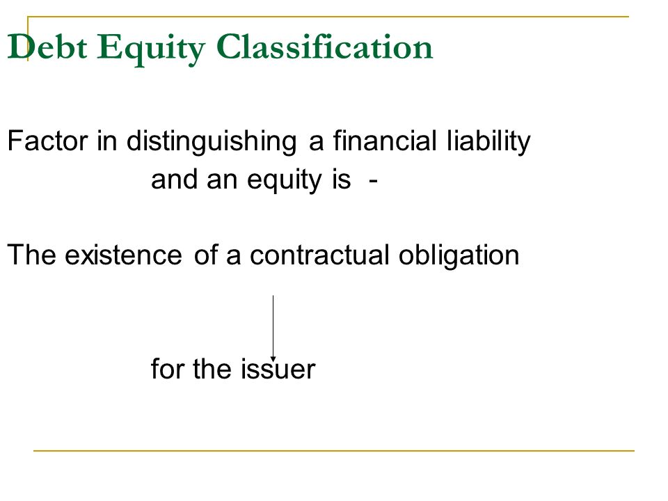 debt classification The current/noncurrent classification of debt is important to investors because it  changes a company's working capital and liquidity portrayal.