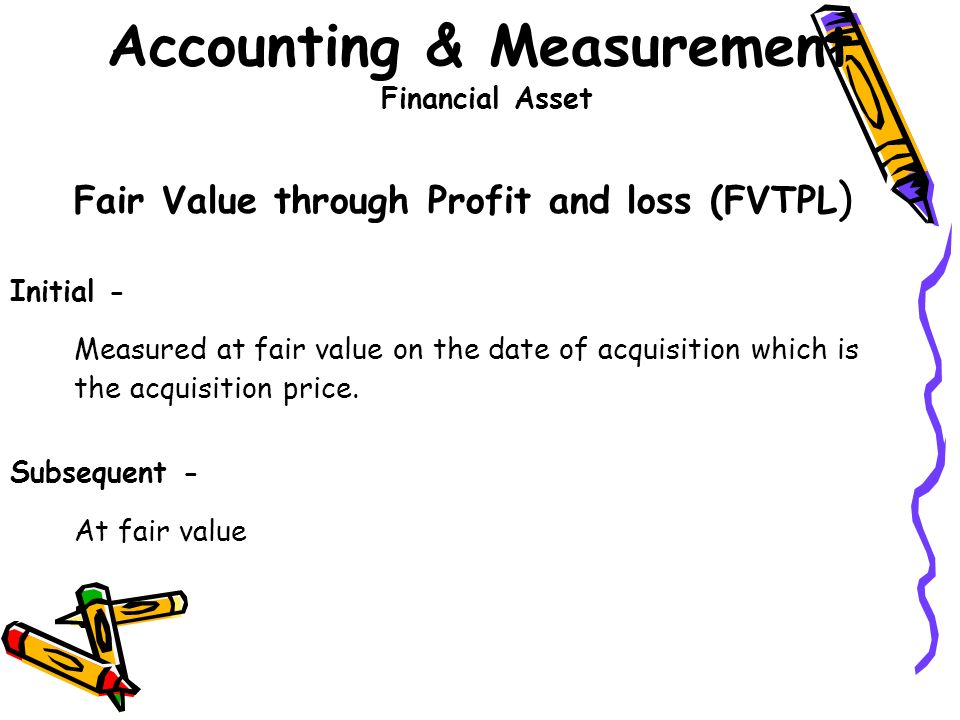 """accurate accounting measurement fair value measurement 21 an overview of fair value accounting fair value is """" the price that would be received to sell an asset or paid to transfer a liability in an orderly transaction between market participants at the measurement date"""" (sfas 1575, fasb 2006a)the parties to the transaction are assumed to be willing and knowledgeable."""