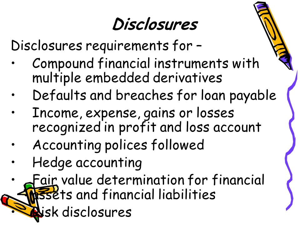 accounting for financial instruments pdf