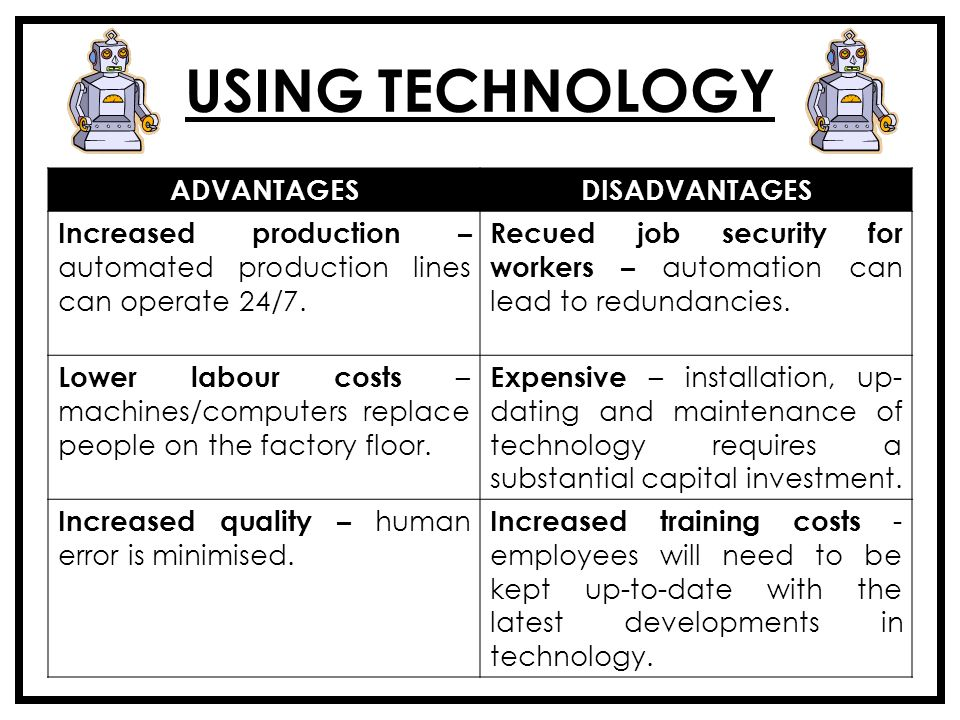 advantages and disadvantages of using computer technology in decision making essay Advantagesthe advantages of using computers is that we can do research and find a lot of information we may be looking for other advantages include typing out a document, essay, letter, or a.