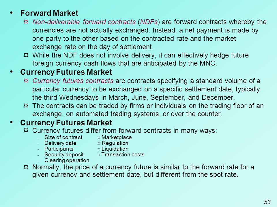 Forex market contract size