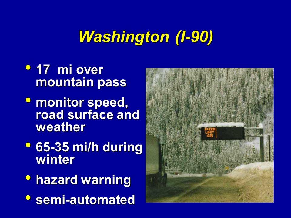 Washington (I-90) 17 mi over mountain pass