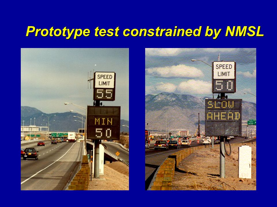 Prototype test constrained by NMSL