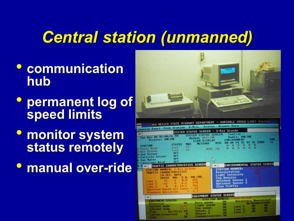 Central station (unmanned)