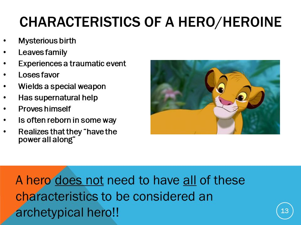 characteristics of a hero Characteristics of a hero 3 pages 804 words june 2015 saved essays save your essays here so you can locate them quickly.
