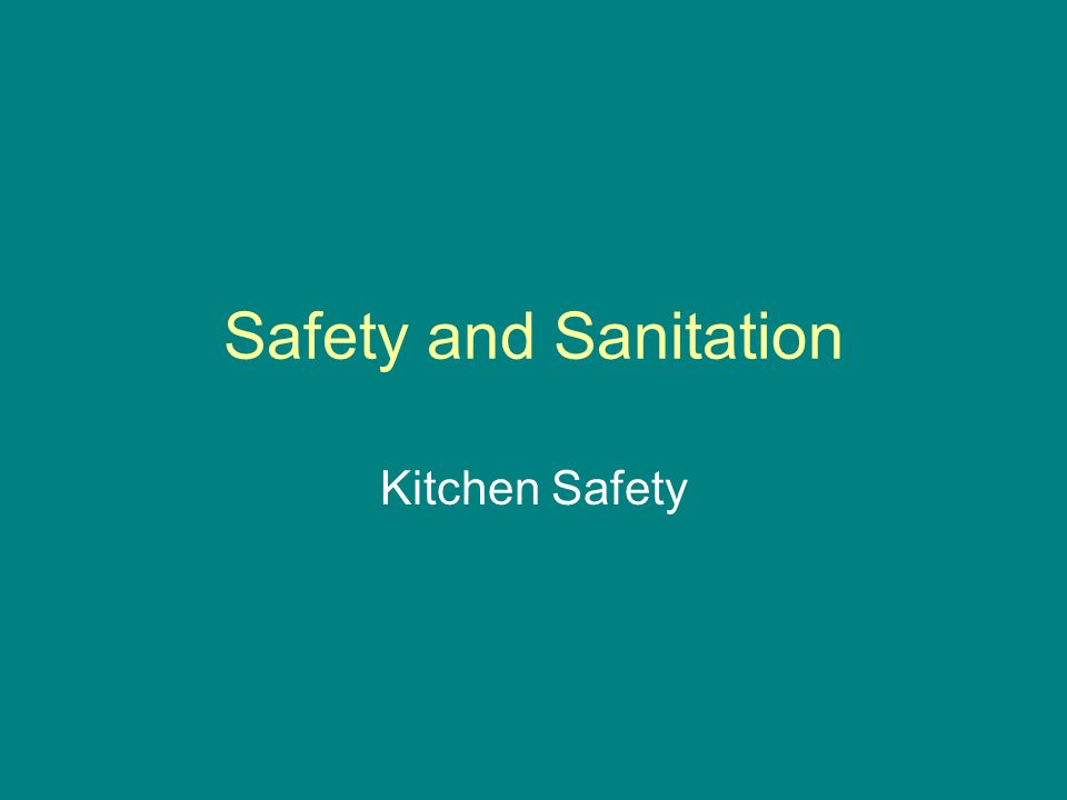 a survey of safety and sanitation Sanitation manual table of contents introduction 1 sanitation deficiencies - examples in processed fruit and vegetable plants 10 plant survey.