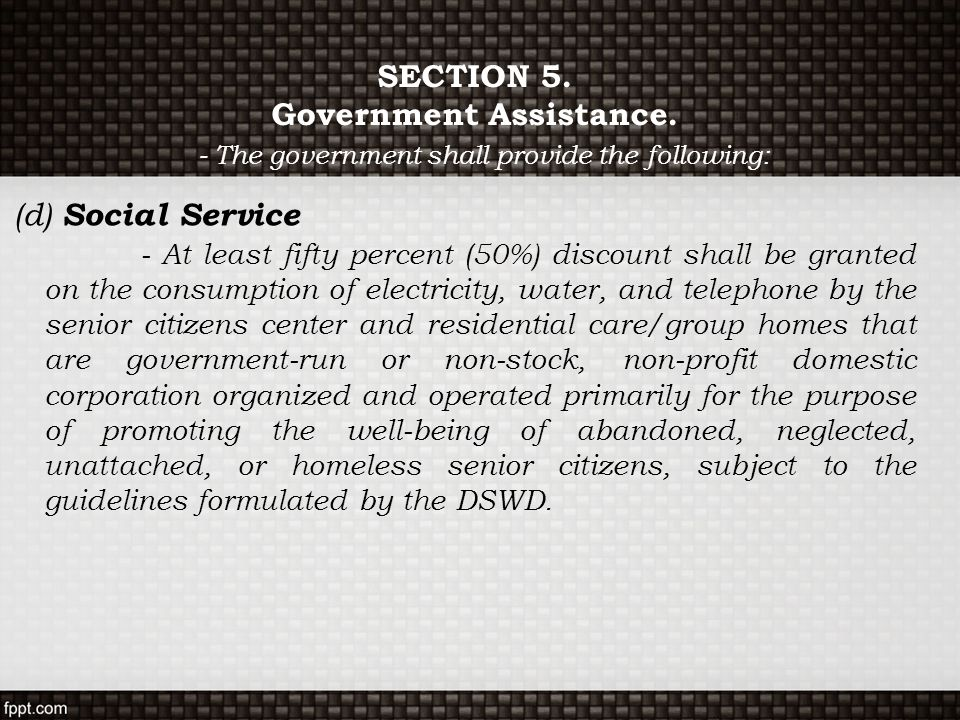 government run welfare Dou said that in 2000, the state council had promulgated a series of favorable policies directed toward non-government-supported social welfare, taking into account.