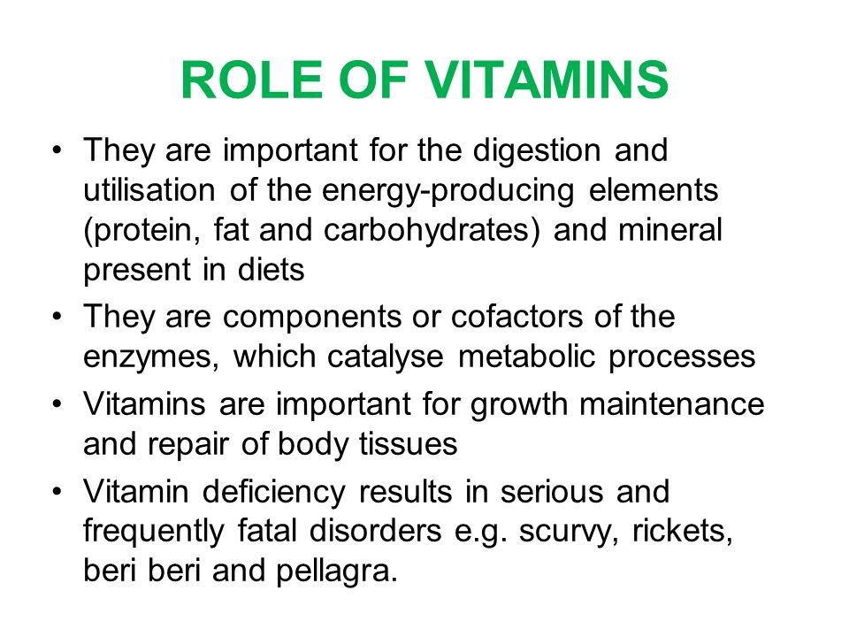 an introduction to the importance of vitamin a Introduction to vitamins polish chemist casimir funck coined the term vitamin in 1910 after isolating from rice a substance curing the disorder beriberi.