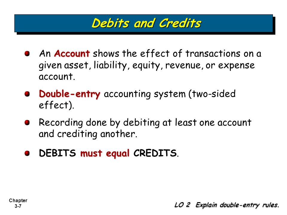 Double-Entry Accounting System - PowerPoint PPT Presentation