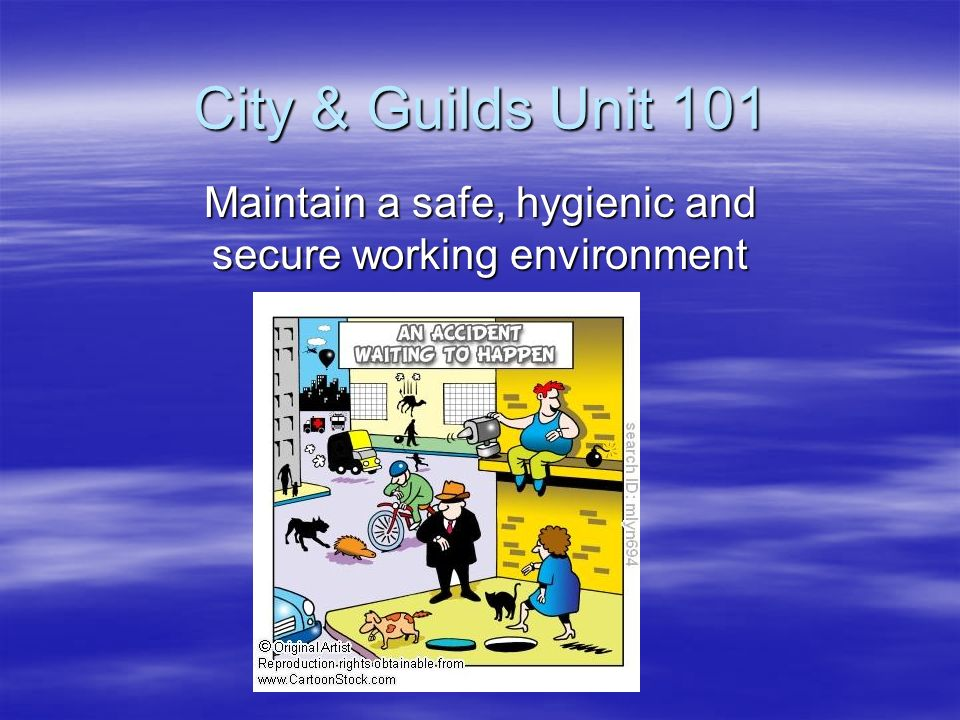 ways of maintaining a safe and secure business environment Unit one: principles of personal responsibilities and principles of personal responsibilities and working of maintaining a safe and secure business.