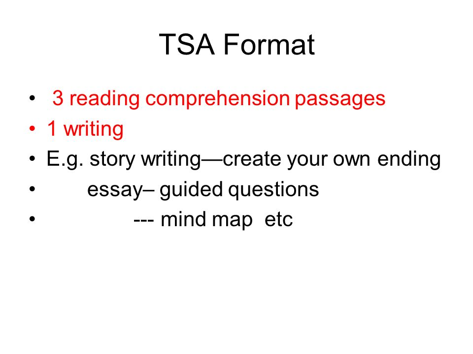 tsa and ps primary ppt video online  2 tsa