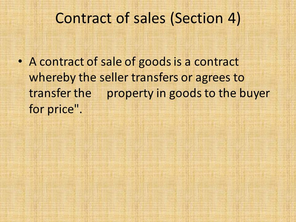 essentials of a contract of sale It is essential that it must be a clearly written document sales agency contract contains the following provision: 1 essentials of sale agency agreement.