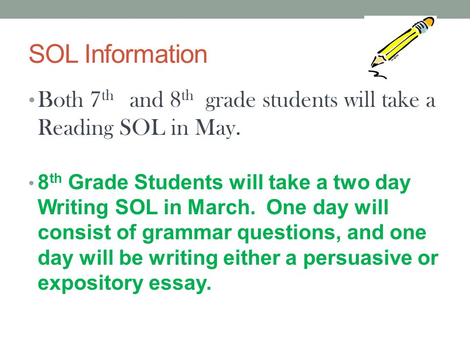 Writing prompts for  th grade solving