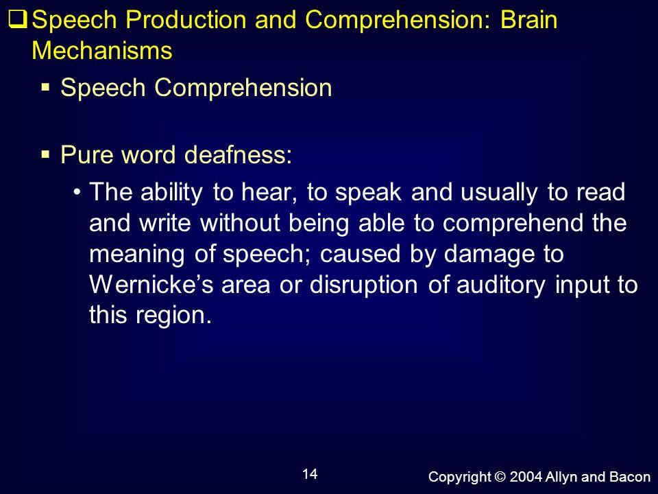 speech mechanism or production of speech essay