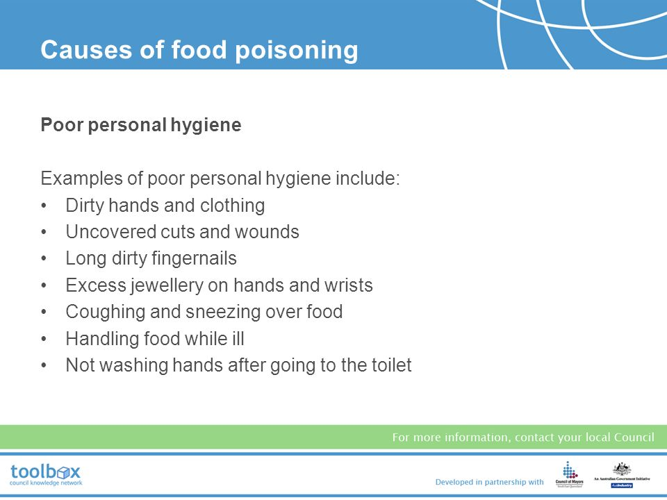 Causes Of Food Poisoning In The Kitchen