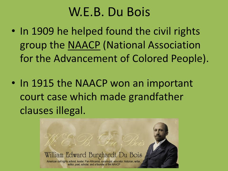 national association for the advancement of The national association for the advancement of colored people (naacp) is a civil rights organization in the united states,.