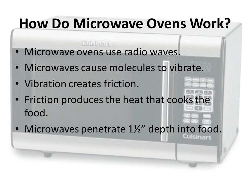 how a microwave works Microwave seems to come on, but only heats occasionally i have a kitchenaid microwave kems378gss0 so the lights on, the fan's running,.